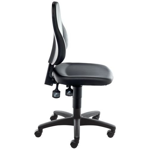 Cadeira de oficina ergonómica Multitalent em vinil