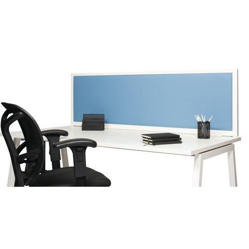 Biombo de separação acústica 495x1600 - Perfil Branco