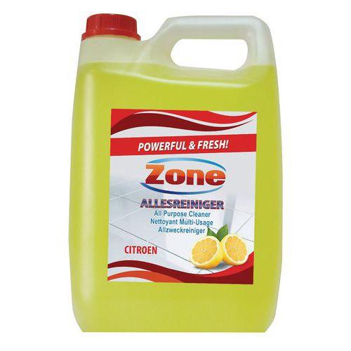 Produto de limpeza multissuperfícies Zone - Bidão de 5 L