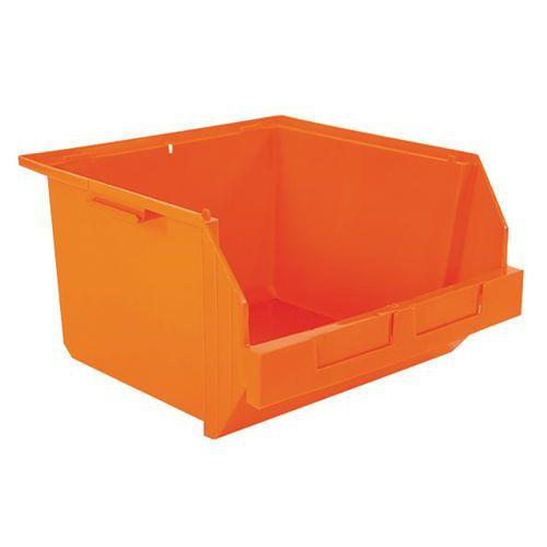 Caixa de bico de recolha empilhável - Comprimento 400 mm - 28 L
