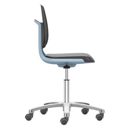 Cadeira de oficina ergonómica Labsit em poliuretano