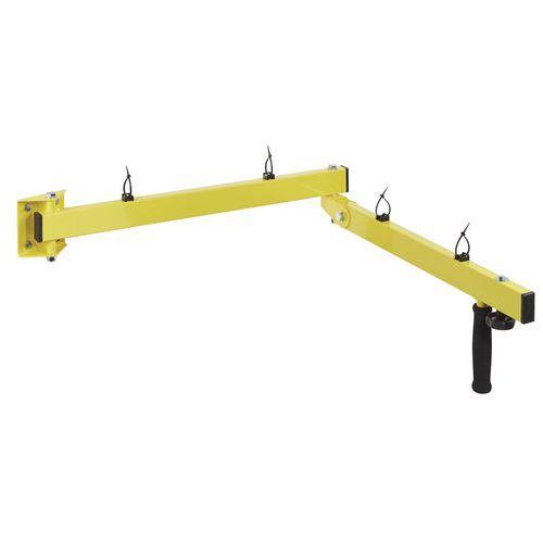 Braço de apoio de projetor para cais de carga