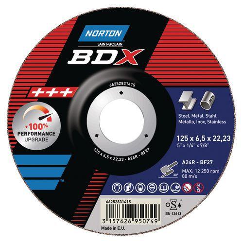 Disco de corte BDX em metal - ø 125