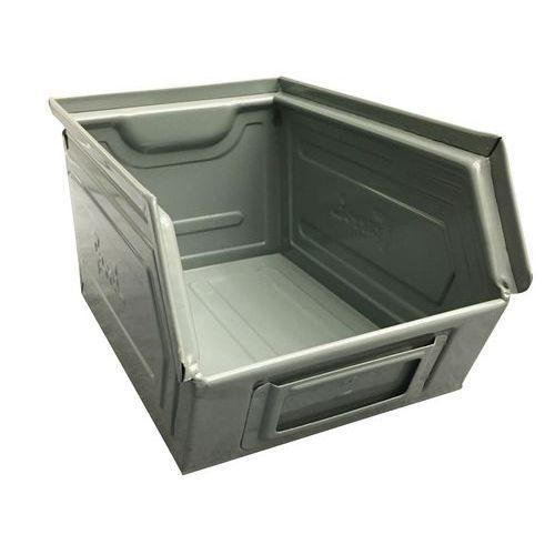 Caixa de bico metálica - Modelo lacado, cor cinzento - Comprimento 160 a 350 mm