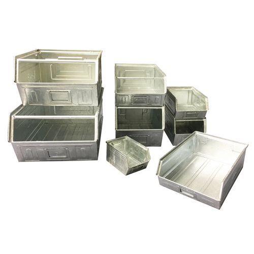 Caixa de bico metálica - Modelo zincado - Comprimento 160 a 350 mm