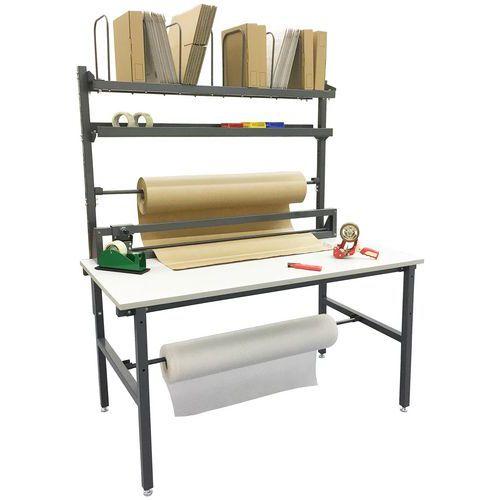 Mesa de embalamento completa – Manutan
