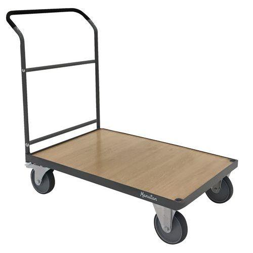 Carro de aço – 1 espaldar fixo – Capacidade de carga de 500 kg – Manutan