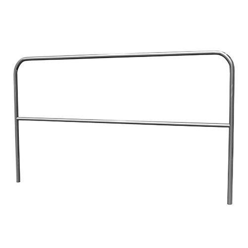 Balaustrada de segurança com 2 barras – 1 e 2m de largura