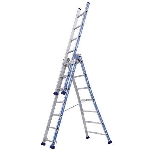Escada transformável Platinium 300 Pro – 3 planos – Tubesca