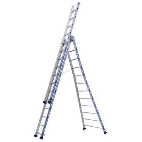 Escada transformável Platinium 300 Pro – 3 planos