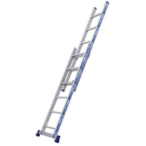 Escada extensível manual Platinium Afix – 2 planos