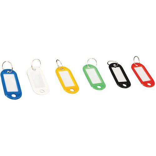 Porta-chaves com etiqueta - Manutan