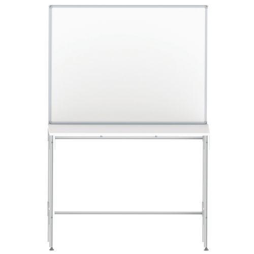Mesa com plataforma integrada para oficina
