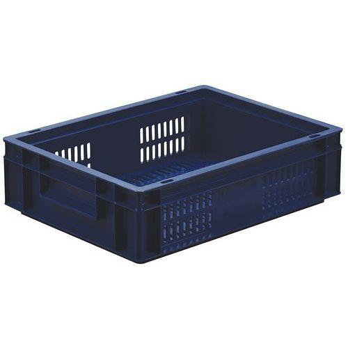 Caixa alimentar de norma europeia - Gradeada - Manutan