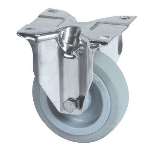 Rodízio fixo com placa – Capacidade de carga de 250kg