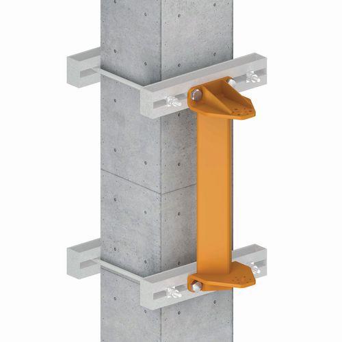 Sistema de cintagem para grua de parede
