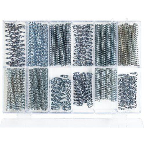 Caixa de molas de compressão - Comprimento 75 a 100 mm - 121 peças