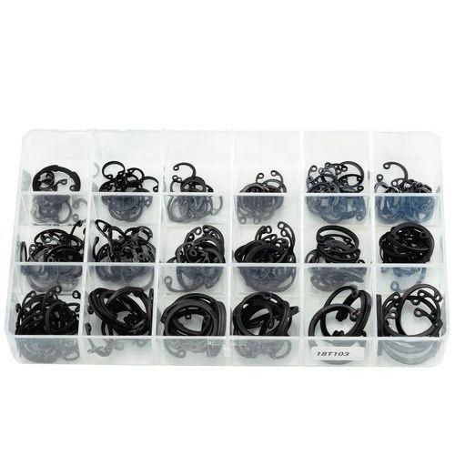 Caixa de anilhas de freio aço para cubos - 260 peças