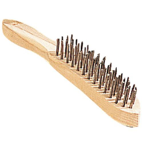 Escova metálica qualquer uso - Fio aço redondo - Osborn