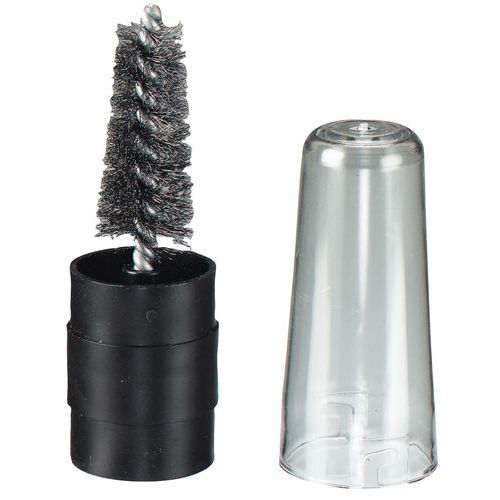 Escova para vela - Escovilhão - Fio de aço ondulado - Osborn