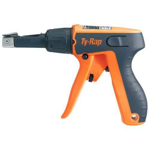 Pistola de colocação para braçadeira Ty-Rap® - Largura da braçadeira de 2,4 a 4,8 mm