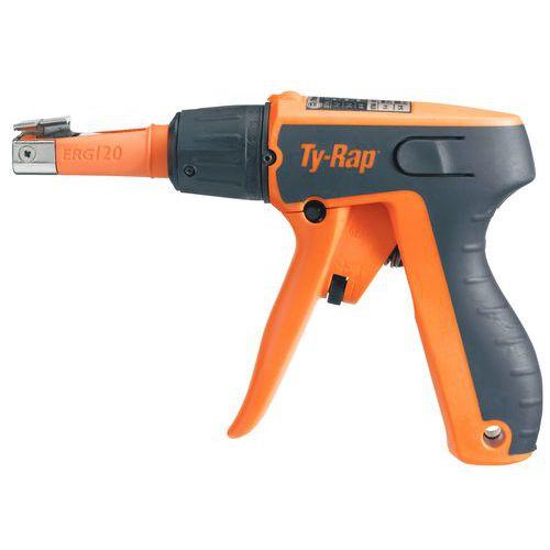 Pistola de colocação para braçadeira Ty-Rap® - Largura da braçadeira de 4,8 a 7,6 mm