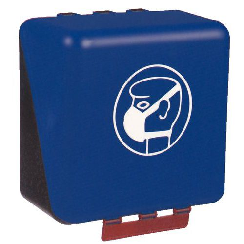 Caixa de arrumação de Equipamento de Proteção Individual Secubox - Formato médio máscara respiratória