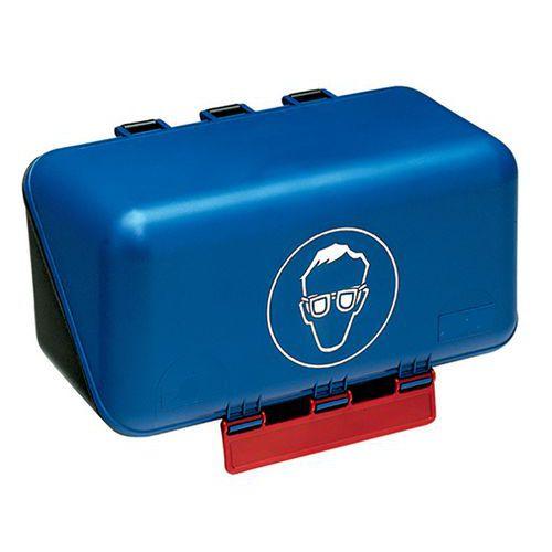Caixa de arrumação de Equipamento de Proteção Individual Secubox - Formato pequeno óculos