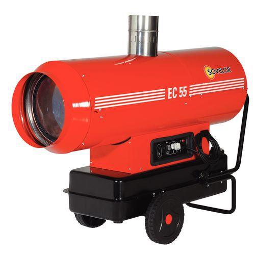 Aquecimento de ar pulsado - Funciona com óleo combustível - Móvel