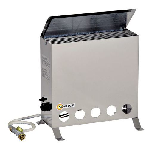 Radiador termóstato - A gás butano - Portátil