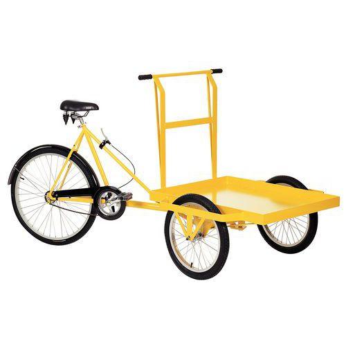 Triciclo industrial - Capacidade de carga de 170kg