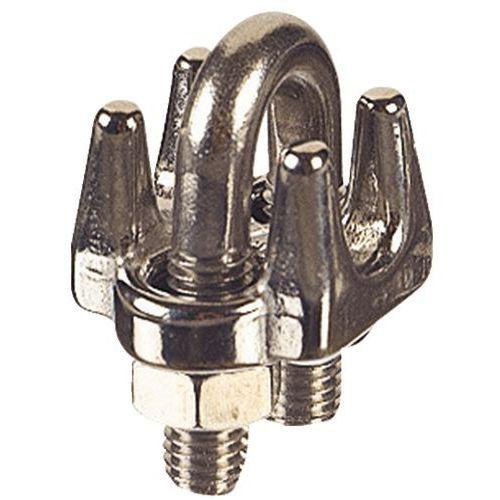 Cerra-cabos com estribo em aço galvanizado