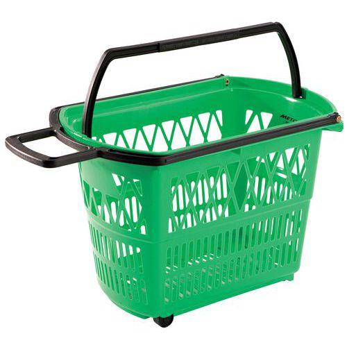 Cesto de compras - Com rodízios