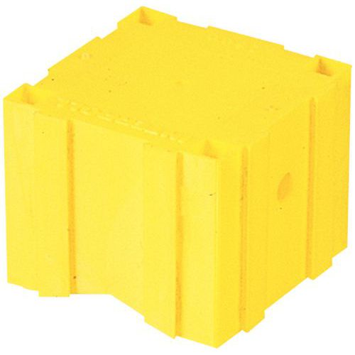 Cubo de roletes - Fixação através de parafusos ou pregos