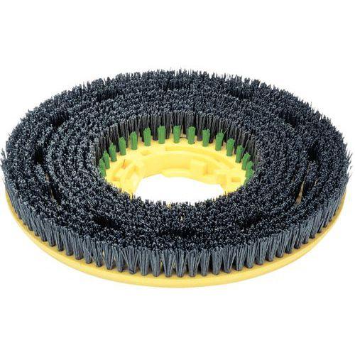 Escova, cor verde-preto, Longlife