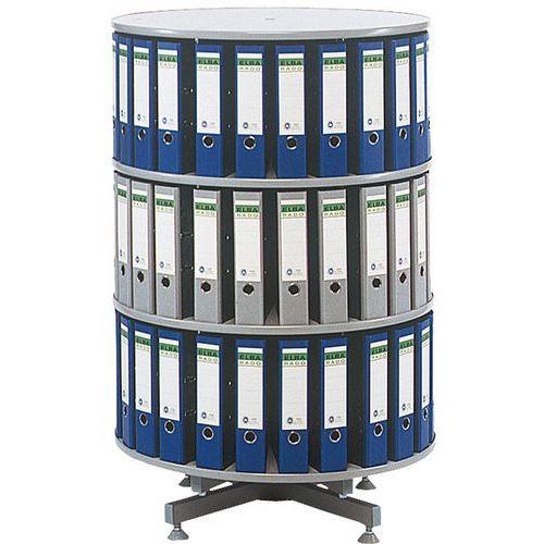 Coluna de pastas de arquivo rotativa - Diâmetro 100 cm