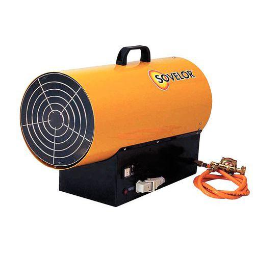 Aquecimento a ar impulsionado - A gás propano - Portátil - Modelo com ignição automática - BLP 33E