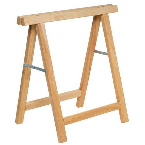 Cavalete em madeira - Dobrável