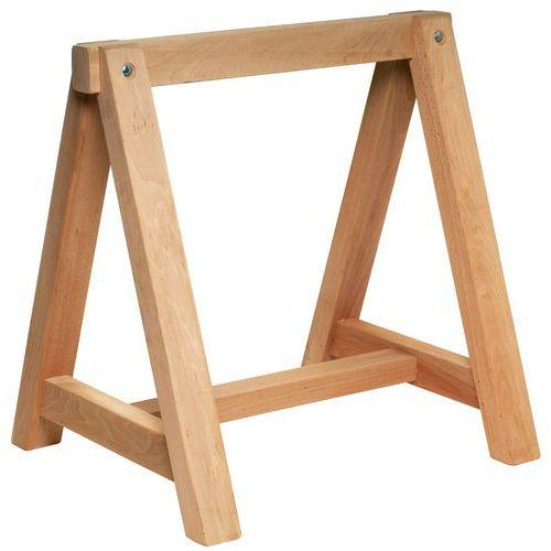 Cavalete em madeira - Fixo