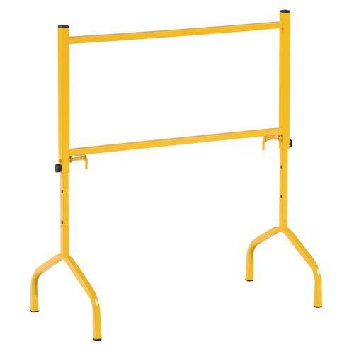 Cavalete em aço, amarelo – 175kg