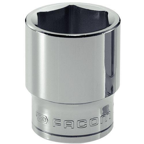Chave de caixa métrica de 3/8 - 6 faces - Capacidade de 18 a 24 mm