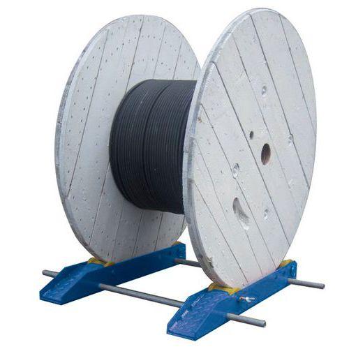 Desenrolador para carretéis - Para cargas pesadas