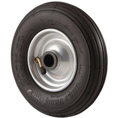 Roda de transporte com pneumática
