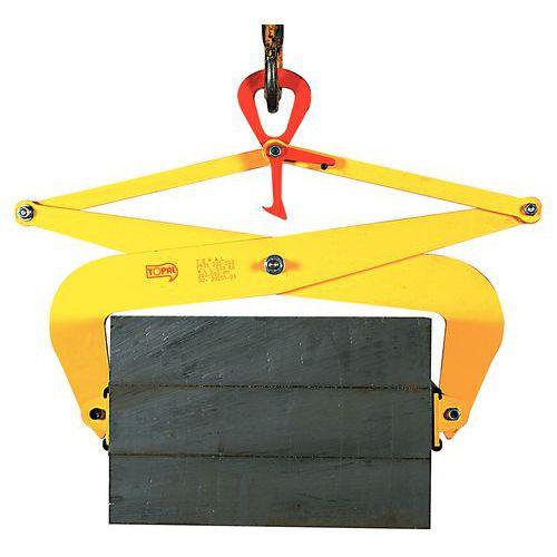 Pinça de aperto automático – Capacidade de 500 a 1000kg