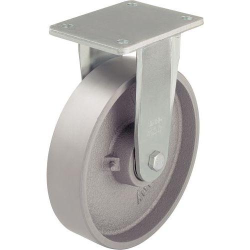 Rodízio em ferro fundido - Capacidade de 750 a 1200 kg - Rodízio fixo