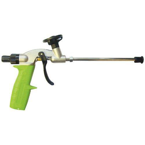 Pistola de espuma metálica