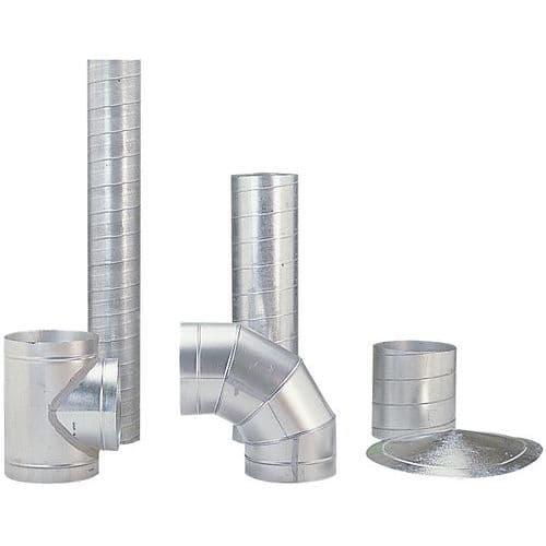 Tubo para mangas de ventilação rígidas - Ø 80 a 125 mm