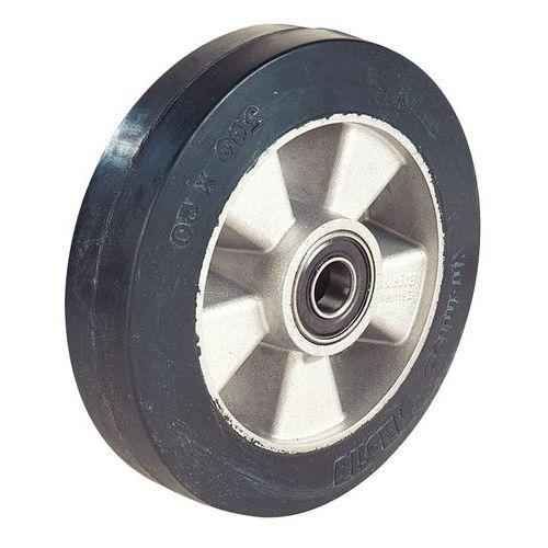 Roda com piso em borracha - Capacidade 450 kg