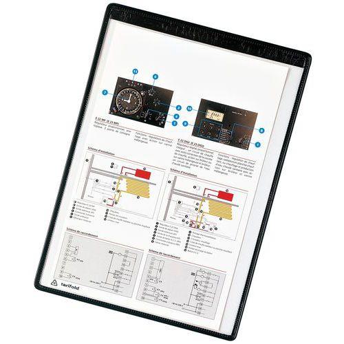 Bolsa porta documentos de fixação magnética - Tarifold T-View