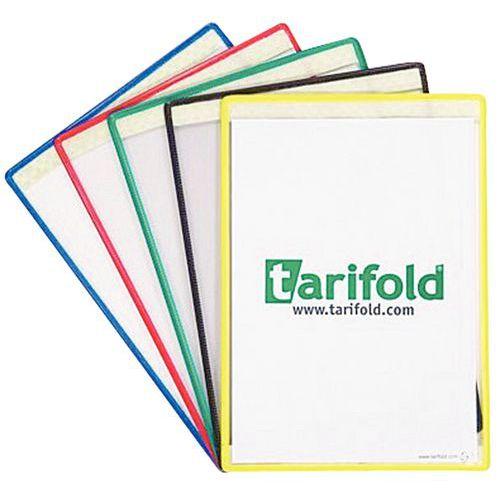 Bolsa de exposição adesiva Tarifold - A4 (horizontal)